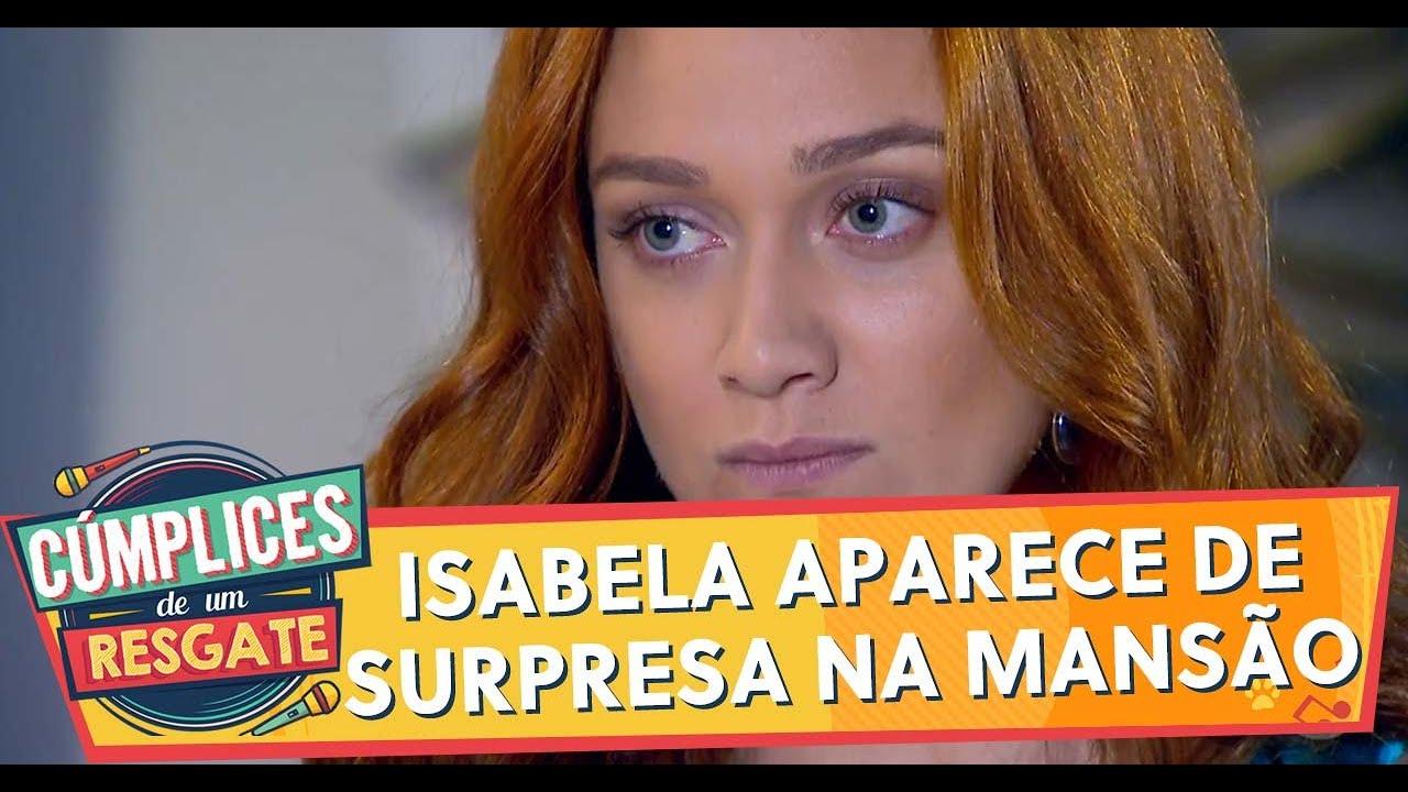 Isabela aparece de surpresa na mansão e discute com Regina | Cúmplices de Um Resgate (14/01/20)