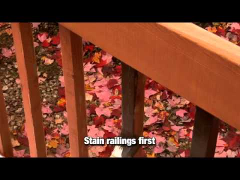 How To Apply A Solid Color Wood Stain
