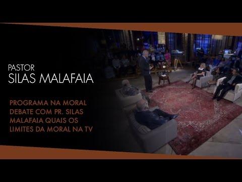 Programa Na Moral - Debate com Pr. Silas Malafaia Quais os limites da moral na TV ?