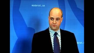 Ekots lördagsintervju 2003 - Fredrik Reinfeldt (M)