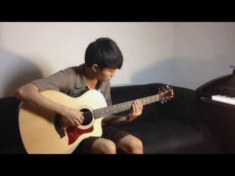 Gravity - Sungha Jung Guitar Cover by Palm