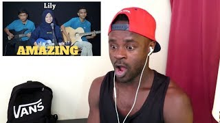 Download lagu LILY ALAN WALKER Cover by Ferachocolatos ft GilangBala Reaction MP3