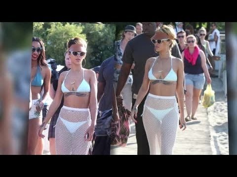 Rihanna Shows Off Her Slim Bikini Body in Poland - Splash News | Splash News TV | Splash News TV