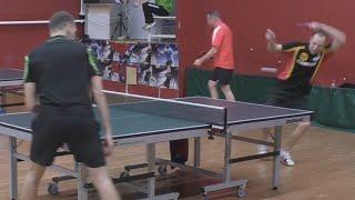 Александр МОРОЗОВ - Алексей УЛАНОВ Настольный теннис, Table Tennis