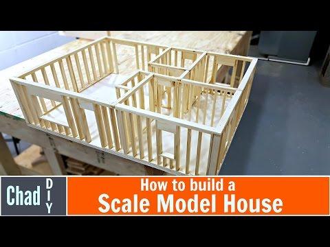 DIY Scale Model House Build