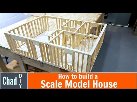 DIY Scale Model House Build