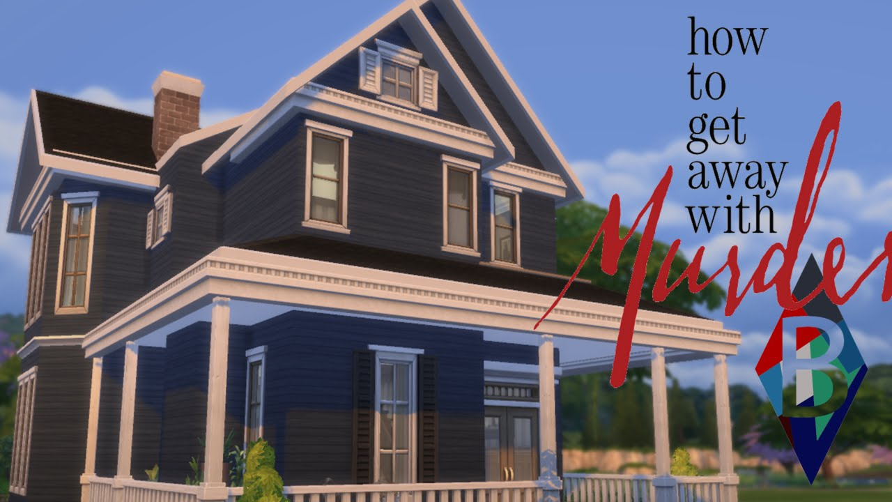 The Sims 4 House Building - Annalise Keating's House (How ...