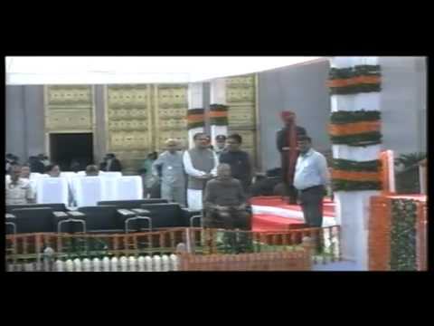 Smt.Vasundhara Raje takes oath as Chief Minister of Rajasthan
