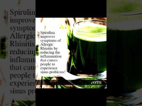 Spirulina benefits