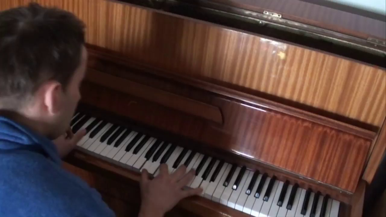 Metallica - Nothing Else Matters cover piano