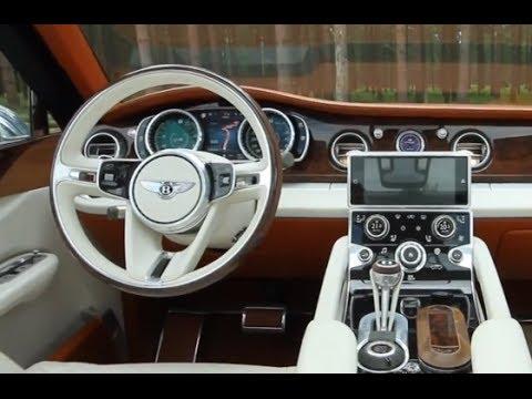 2016 Bentley Suv Interior Inspiration Bentley Exp 9 Suv