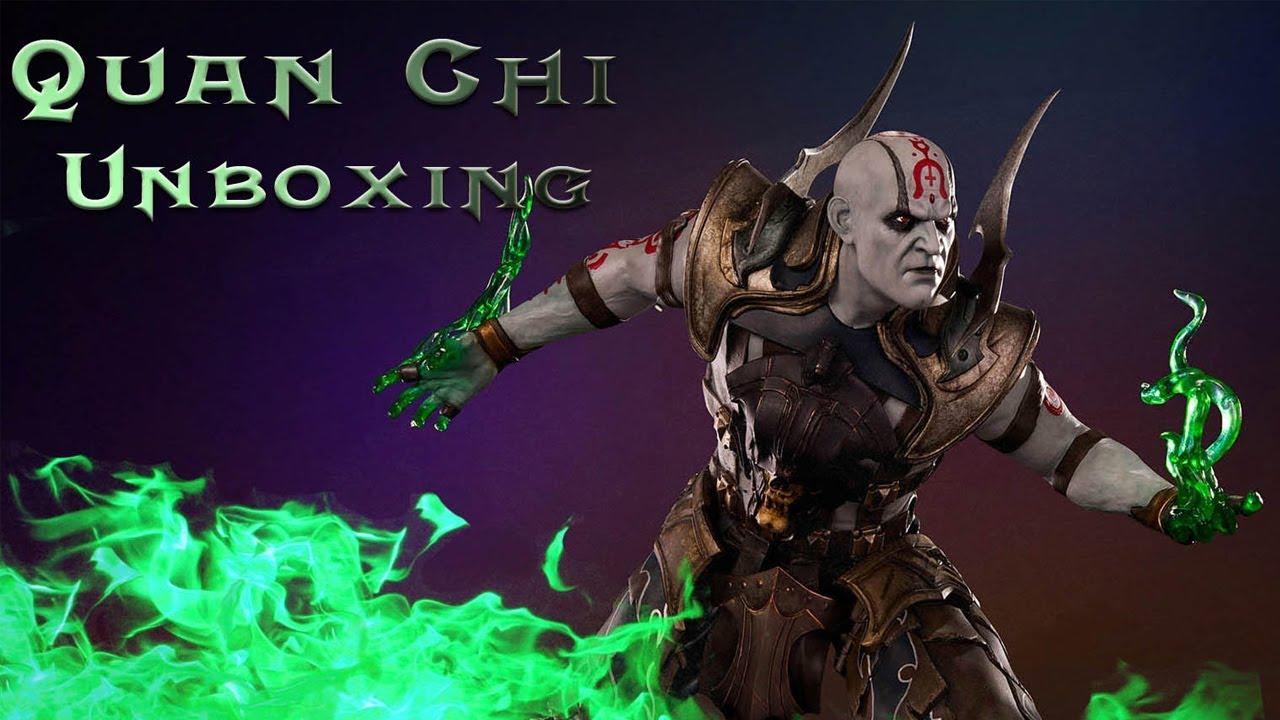 PCS Collectibles Mortal Kombat Quan Chi 1:4 Statue Unboxing Video