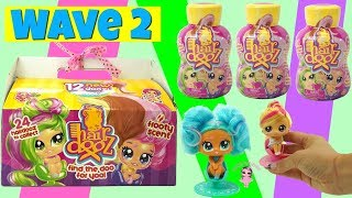 HairDooz Wave 2 Unboxing | Will We Find the Rare Color Changing Hairdooz?  Kids Toys Small Dolls