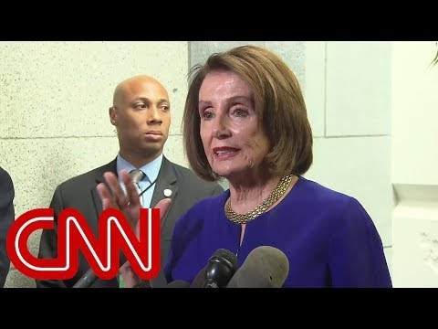 Nancy Pelosi: We believe that Trump is engaged in a cover-up