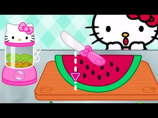 Permainan Game Anak Masak Masakan Hello Kitty Lunch Box Youtube