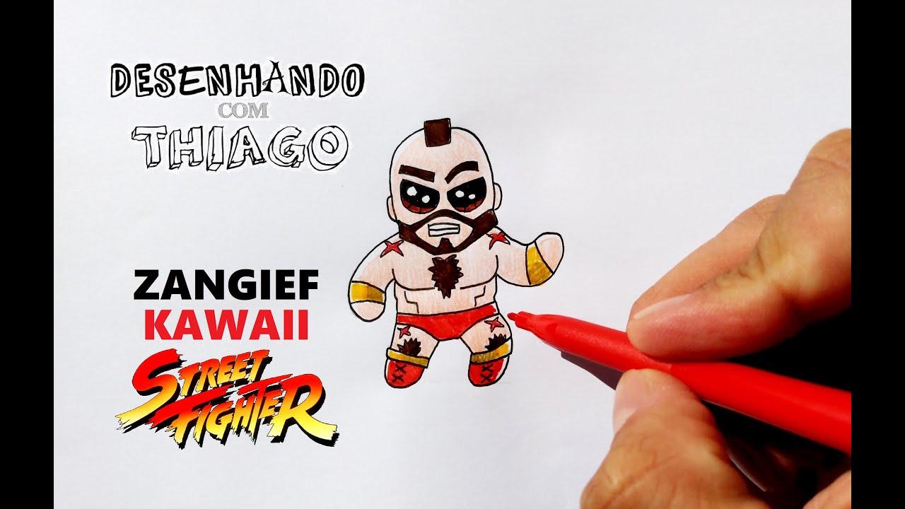 ZANGIEF - KAWAII (Desenhando com Thiago)