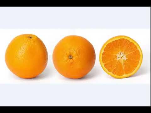 el valor nutritivo de la naranja