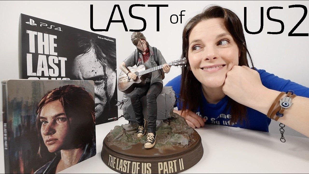 The Last Of Us 2 Edición Coleccionista Unboxing Y Gameplay Youtube