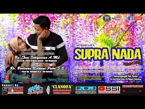 Live Streaming Campursari SUPRA NADA // CLANOFA AUDIO // HVS SRAGEN CREW 01 LIVE JAMBEAN