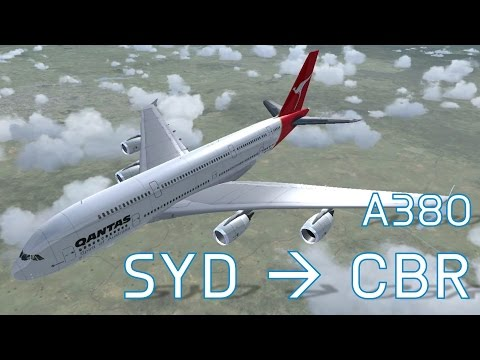 FSX Sydney to Canberra | Full Flights | Series 6 Episode 8