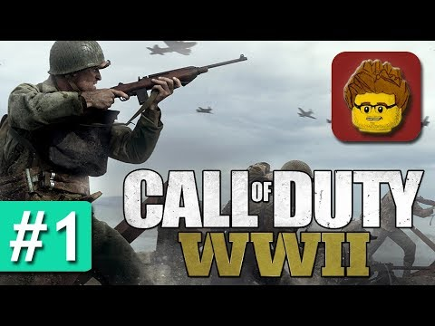 Call of Duty: WW2 - #1 - Let's Play Call of Duty 2017 im 2. Weltkrieg