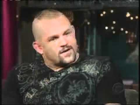 Chuck Liddell on Late Show 6-7-07