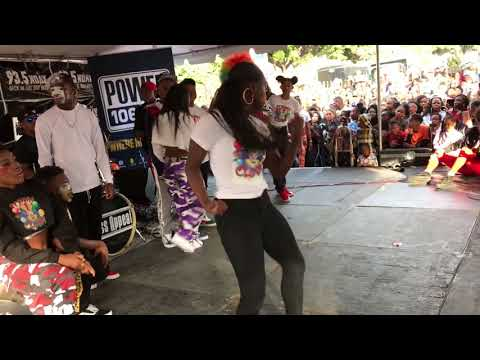 T-Squad at MLK PARADE @935KDAY STAGE | OfficialTSquadTV | Tommy The Clown
