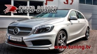 Mercedes Benz A 250 CGI with Speed-Buster Multikanal Chiptuning-Box. A250CGI