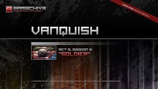 Vanquish (PS3) Gamechive (Act 5, Mission 2: Soldier / Lt. Col. Burns Boss Fight) [God Hard]
