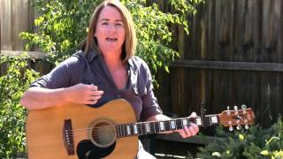 Marie Wilson Guitar Tutorial of Hold on Forever, Rob Thomas