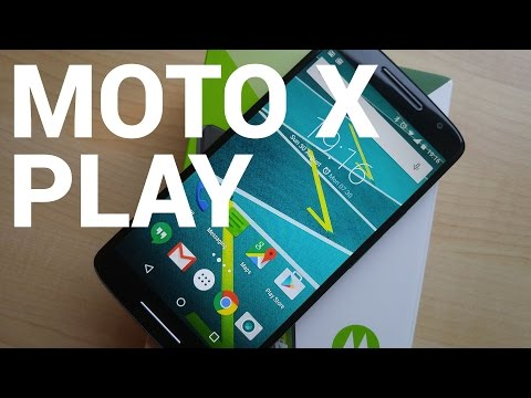Moto X Play video walkthrough