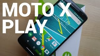 Moto X Play video walkthrough