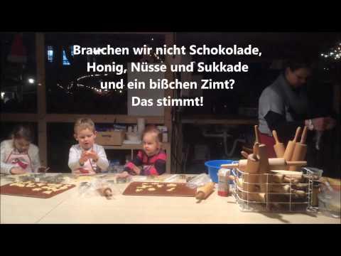 In der Weihnachtsbäckerei _ Karaoke