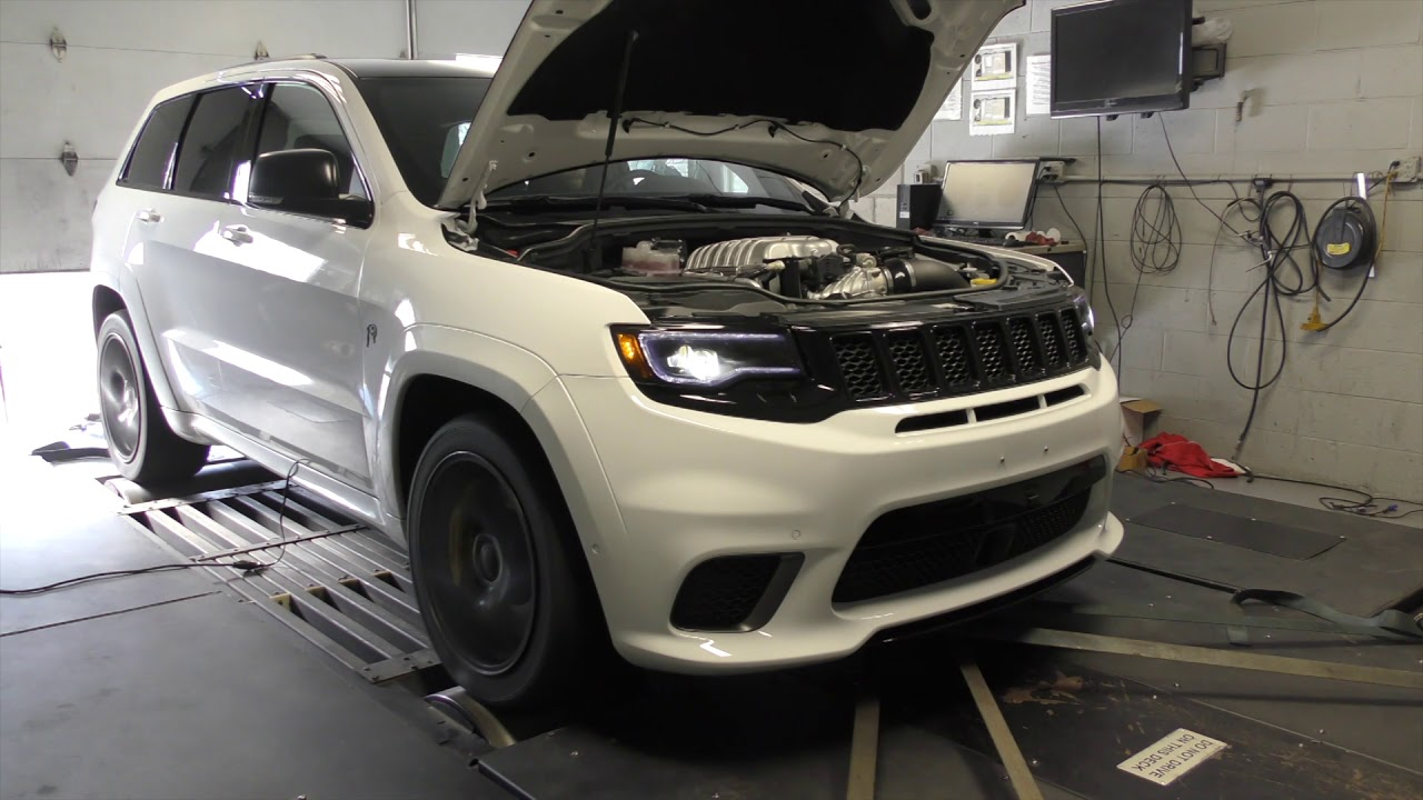 Sarah's 2018 Jeep Grand Cherokee Trackhawk Livernois S1250 Performance  Package