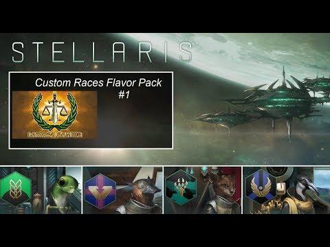 Stellaris Custom Races Flavor Pack #1
