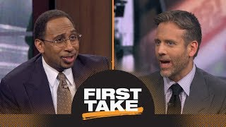 Stephen A., Max debate whether LeBron James is the most influential athlete ever | First Take | ESPN