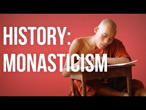 HISTORY OF IDEAS - Monasticism