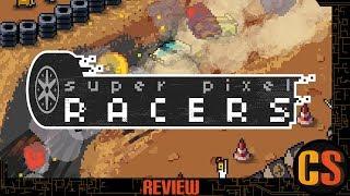SUPER PIXEL RACERS - PS4 REVIEW
