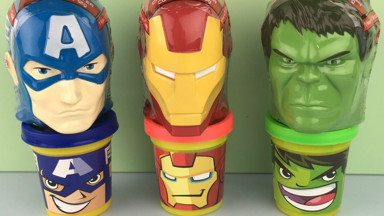 marvel avengers age of ultron character surprise heads park avenue foods captainamerica ironman hulk