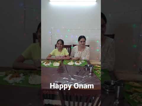 Happy Thiruvonam from Jaanvi's World