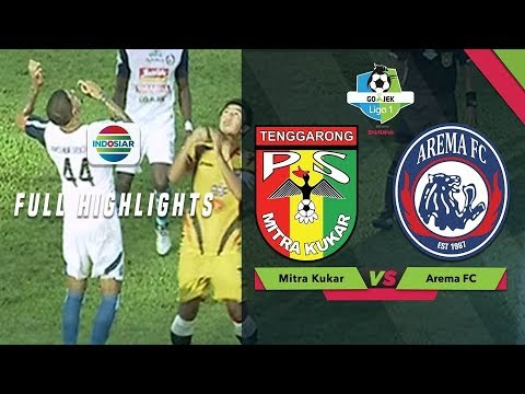Mitra Kukar (4) vs (3) Arema FC - Full Highlight  | Go-Jek Liga 1 bersama Bukalapak
