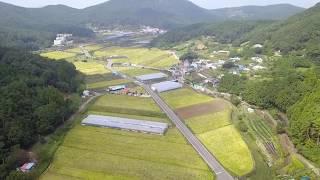 드론영상촬영 - 부춘농촌체험휴양마을 하늘에서 내려보다