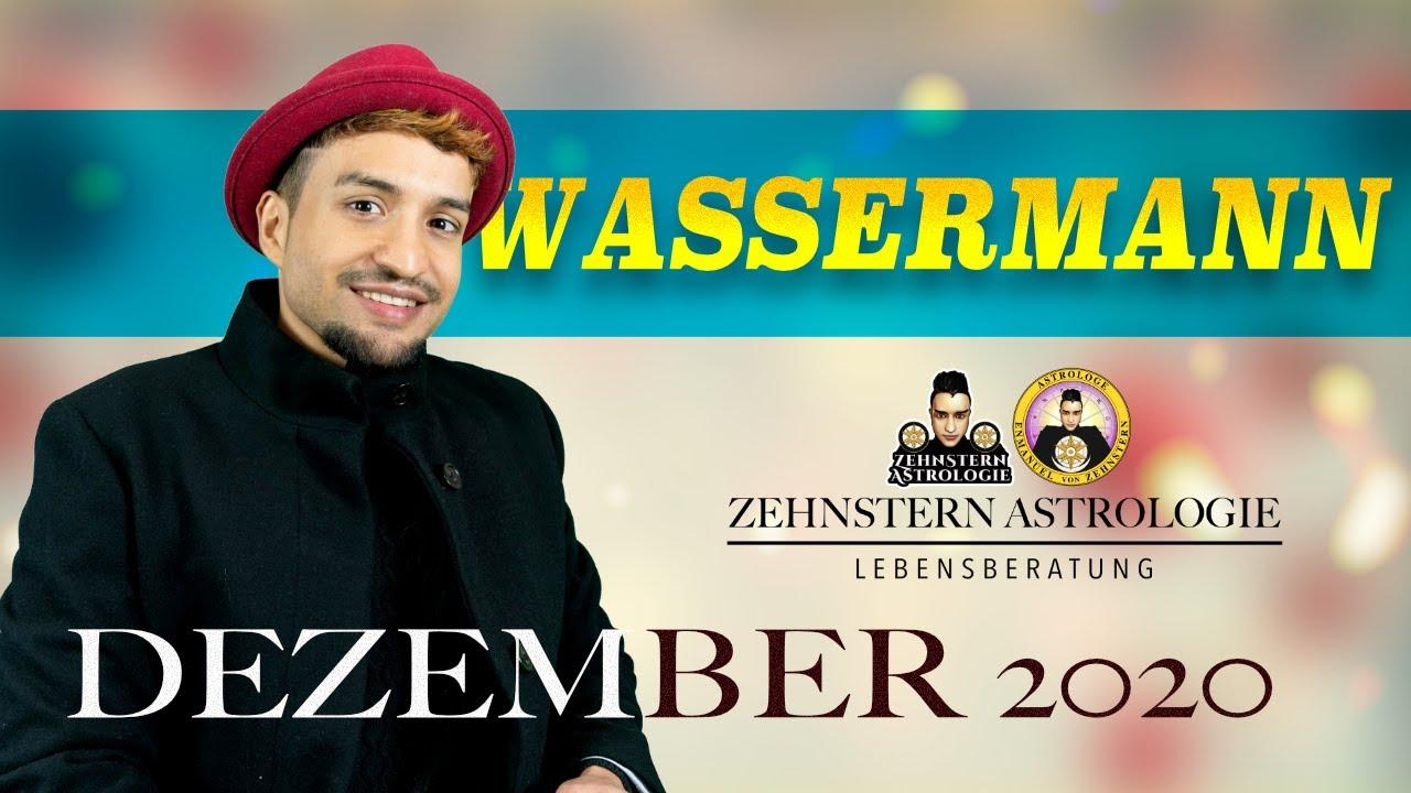 WASSERMANN MONATSHOROSKOP DEZEMBER 2020 | #ZehnsternAstrologie.com