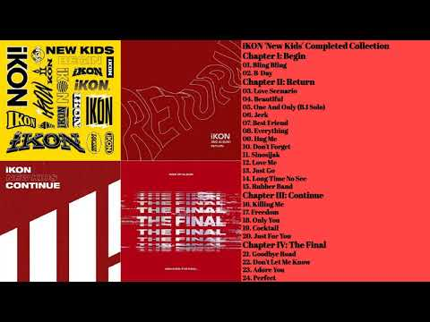 iKON 'New Kids' Completed Collection | 4 Albums Playlist