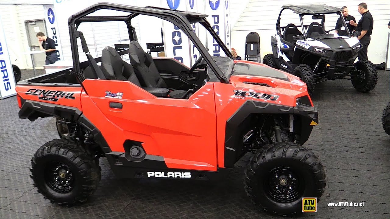 Polaris Side By Side Atv >> 2018 Polaris General 1000 Side By Side Walkaround 2017