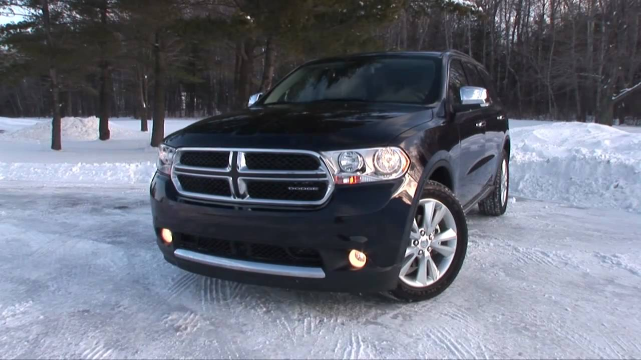 2011 Dodge Durango Citadel Drive Time Review Testdrivenow Youtube