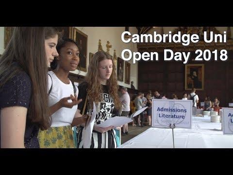 Cambridge University Open Day 2018 | #GoingToCambridge