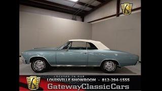 1966 Chevrolet Chevelle Malibu Convertible   Stock #803