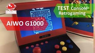 Test Console Arcade AIWO G1000, bien mieux que la NEO GEO MINI et RS07 pour moins cher