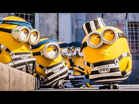 Minions In Prison Scene - DESPICABLE ME 3 (2017) Movie Clip from YouTube · Duration:  3 minutes 42 seconds